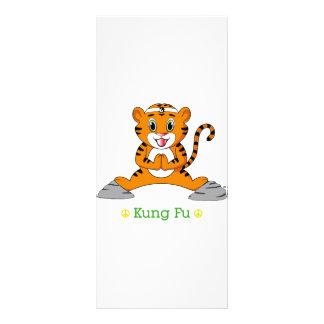 Kung Fu Tiger™ Gestell-Karte Werbekarte