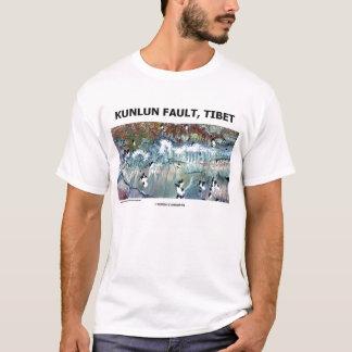 Kunlun bemängeln, Tibet (Bild-Erde) T-Shirt