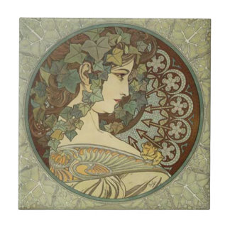 Kunst Alphonse Mucha Nouveau Fliesen