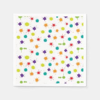 Kunst-Angriffs-Cocktail-Papierservietten Serviette