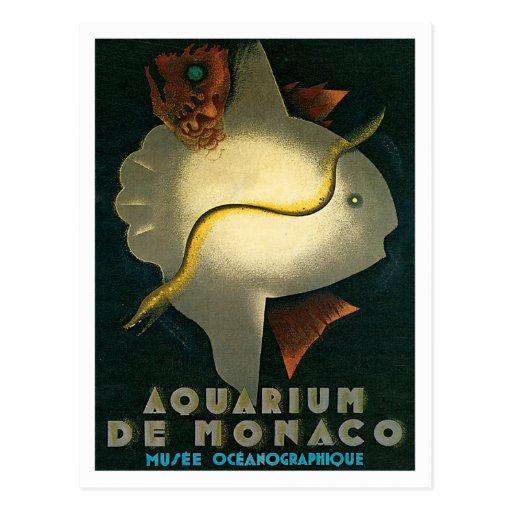 Kunst Aquarium-Des Monaco Musee Oceanographique Postkarten