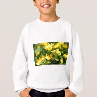Kunst-Blumen für Frühling, cowslip alias Sweatshirt