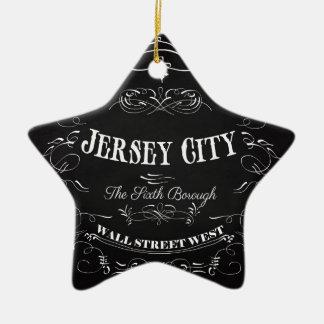 Kunst Cincinnatis Ohio - die Königin des Westens Keramik Stern-Ornament