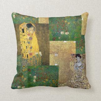Kunst-Collagen-Wurfs-Kissen Gustav Klimt Kissen