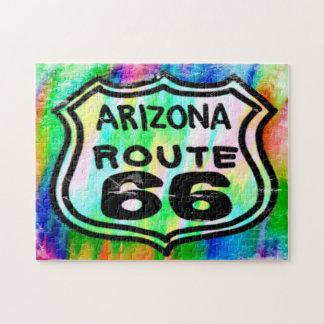 Kunst-Deko Arizona des Weg-66 Puzzle