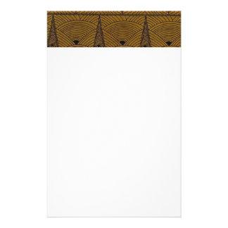 Kunst-Deko-Art Individuelle Büropapiere