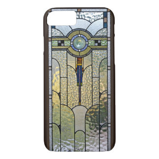 Kunst-Deko-beflecktes Glasfenster iPhone 7 Fall iPhone 8/7 Hülle