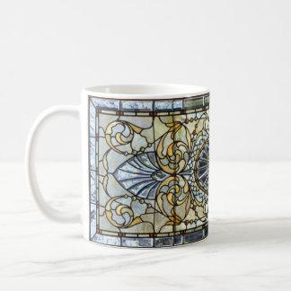 Kunst-Deko-beflecktes Glasfenster-Tasse Kaffeetasse
