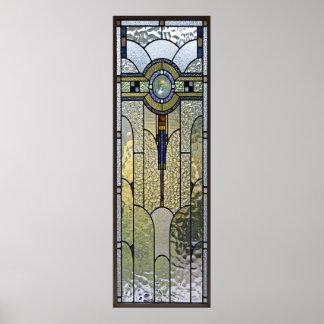 Kunst-Deko-beflecktes Glasfensterplakat VON 8,99 Poster