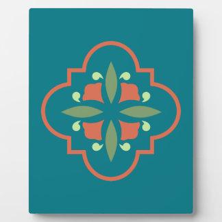 Kunst-Deko-Blume Fotoplatte