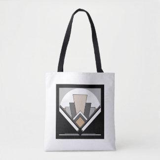 Kunst-Deko-Fan-Ausdruck Tasche