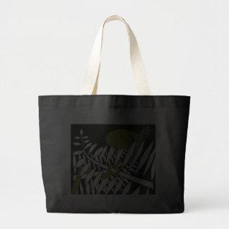 Kunst-Deko-Farn Tasche