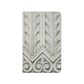 Kunst-Deko-Fassaden-Detail Taschennotizbuch