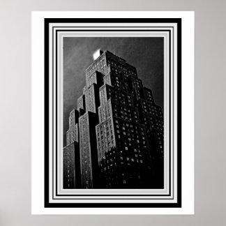 Kunst-Deko-Gebäude 16 x Plakat 20