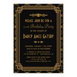 Kunst-Deko-Geburtstags-Party Einladungen