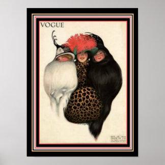 Kunst-Deko-Mode-Abdeckung 12 x 16 Poster