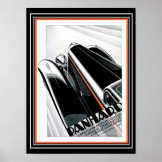 Kunst-Deko Panhard Anzeige Alex Kow (1932) Poster