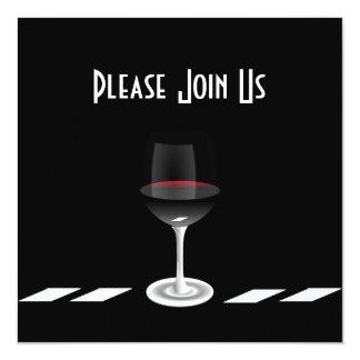 Kunst-Deko-Party Einladung verbinden uns bitte