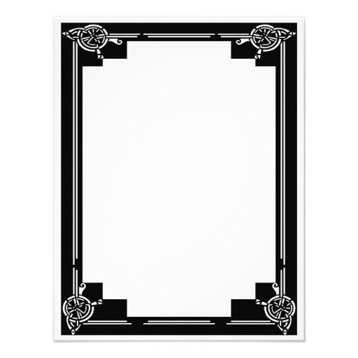 Kunst-Deko-Rahmen Personalisierte Ankündigungskarte