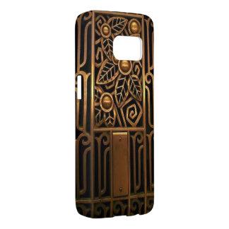 Kunst-Deko-Samsungs-Galaxie S7, kaum dort