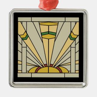 Kunst-Deko-Sonnenschein Silbernes Ornament