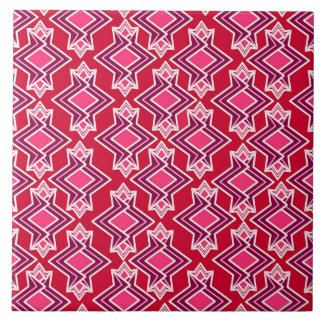 Kunst-Deko-Tapeten-Muster, Burgunder-Wein Keramikfliese