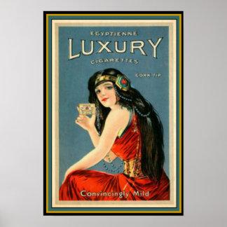 Kunst-Deko-Vintage Luxuszigaretten-Anzeige 13 x 19 Poster