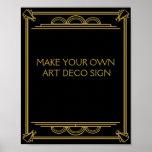 Kunst-Deko Wedding oder Party-Zeichen machen Ihre Poster