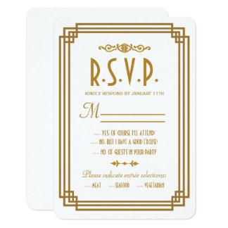 Kunst-Deko-weiße Hochzeit UAWG Wartekarten 8,9 X 12,7 Cm Einladungskarte