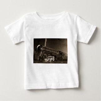 Kunst-Deko-Zug New York zentraler Vintager Baby T-shirt