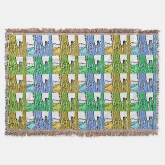 Kunst-Dekor-Ofen-Rohr-Kaktus-Wurfs-Decke Decke