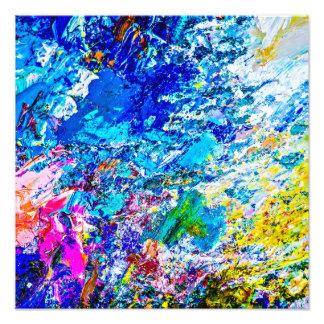 Kunst der Farbpalette Fotodruck