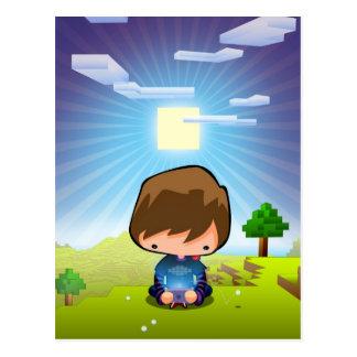 Kunst der Gamer Postkarten