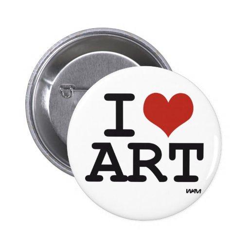 Kunst der Liebe I Button