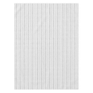 Kunst des Musik-nordische Strick-Text-ASCII Tischdecke
