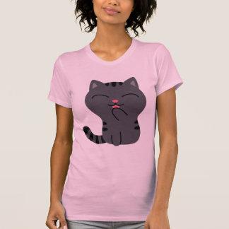 Kunst des Verkratzens der Illustration T-Shirt