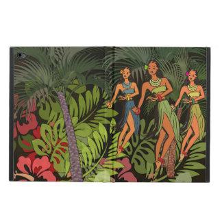 Kunst-Druck ipad Hawaiis Hula Vintages grafischer