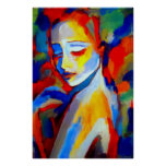 Kunst-Drucke zu den schönen Malereien Plakat