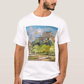 Kunst Edinburgh-Schloss-Ölgemälde Gordons Bruce T-Shirt
