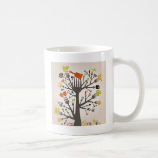 Kunst ein Stecker Kaffeetasse