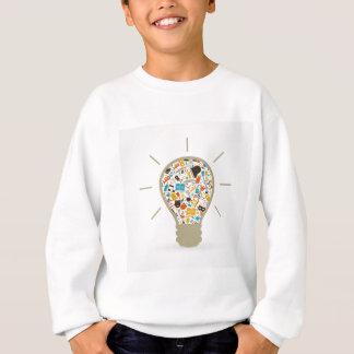 Kunst eine Birne Sweatshirt