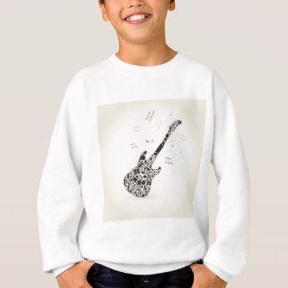 Kunst eine Gitarre Sweatshirt