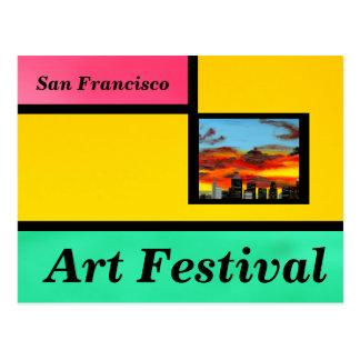 Kunst-Festival Postkarte