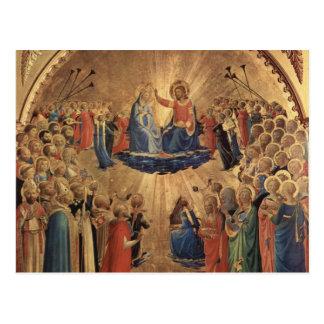 Kunst Fra Angelico Postkarte