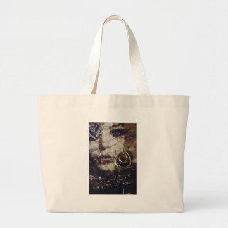Kunst-Frauen-Collage Tasche