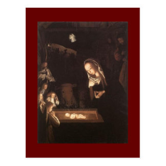 Kunst-Geburt Christis-Szenen-Malerei-Postkarte Postkarte