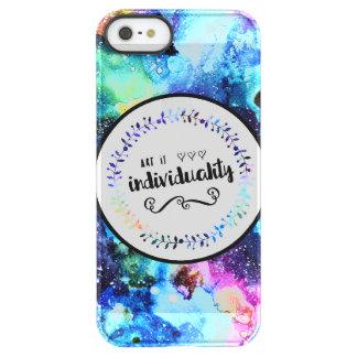 Kunst ist Individualität Permafrost® iPhone SE/5/5s Hülle