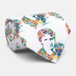 Kunst Justin Trudeau Digital Bedruckte Krawatten