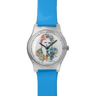 Kunst Justin Trudeau Digital Uhr