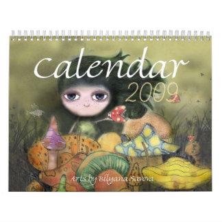Kunst-Kalender 2009 von Biliana Savova Kalender